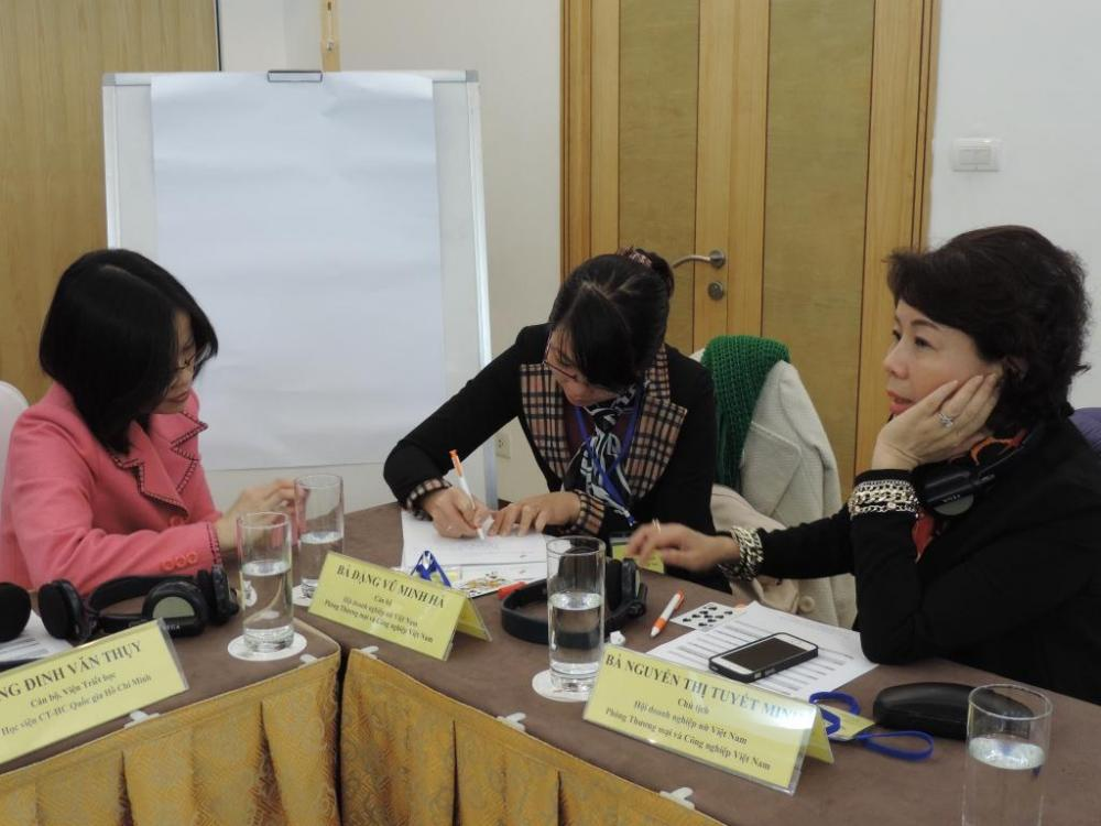 Hội thảo thông tin giới thiệu chương trình Hướng dẫn/ Kèm cặp