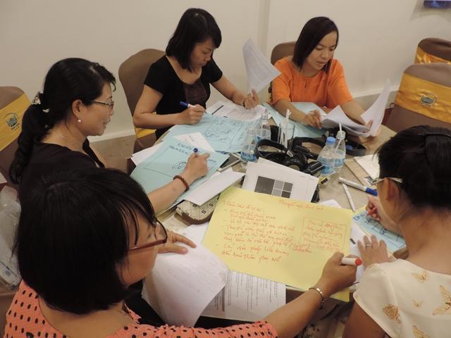 Tập huấn về viết báo cáo, khuyến nghị chính sách và trình bày nghiên cứu hướng hành động