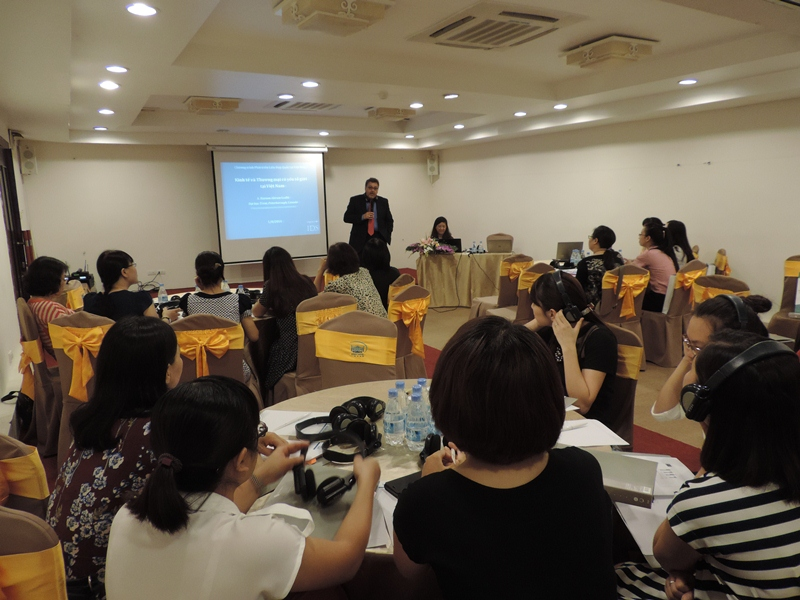 """Tập huấn """"Nền kinh tế và Thương mại có yếu tố Giới ở Việt Nam"""""""
