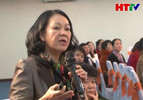 """Hội thảo """"Tăng cường sự tham gia của phụ nữ trong lĩnh vực chính trị"""""""