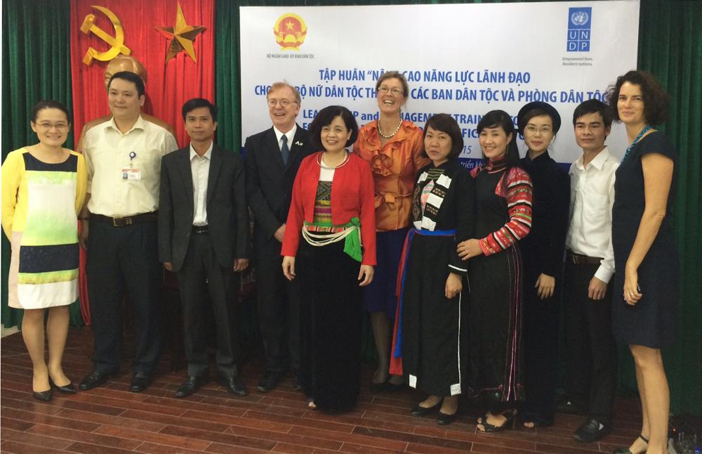 Hội thảo và Tập huấn nhằm nâng cao tỷ lệ nữ đại diện trong cơ quan công tác dân tộc