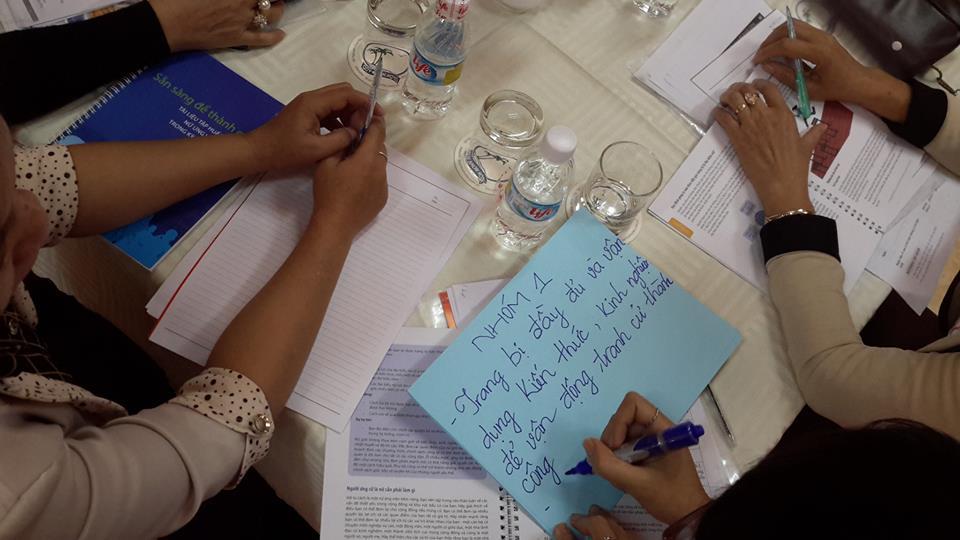 Bình Định: Tập huấn nâng cao năng lực cho cán bộ nữ tiềm năng