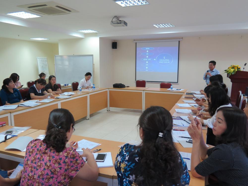 Học viện Phụ nữ Việt Nam tổ chức lớp bồi dưỡng kiến thức cho Chủ tịch/Phó Chủ tịch Hội LHPN cấp tỉnh